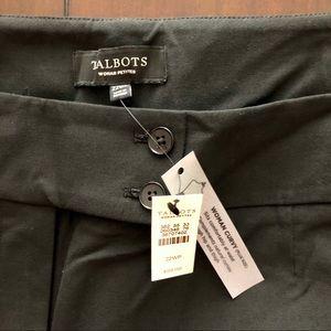Talbots Women's Petite NWT black dress pants